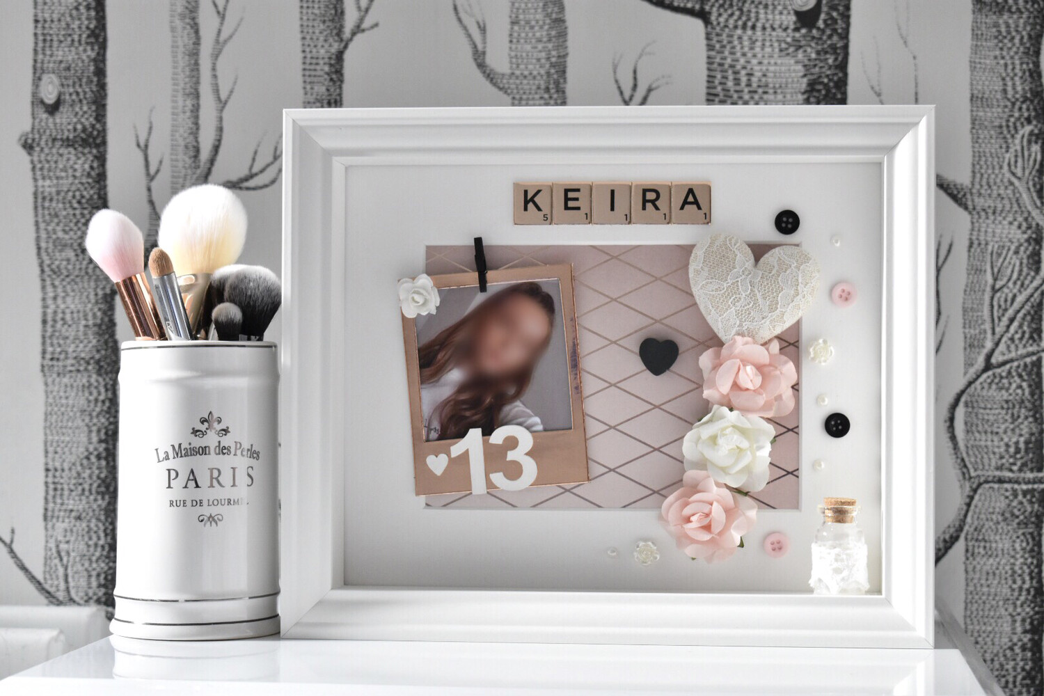 Engraved Photo Frame 16th 18th 21st 30th Birthday Gift