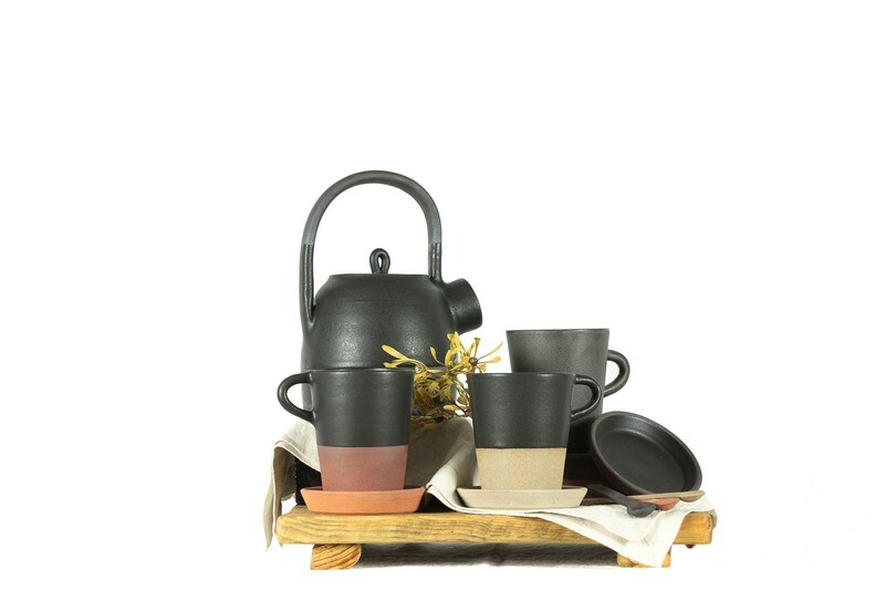 Cup - Tea - Cup + Saucer - Tall