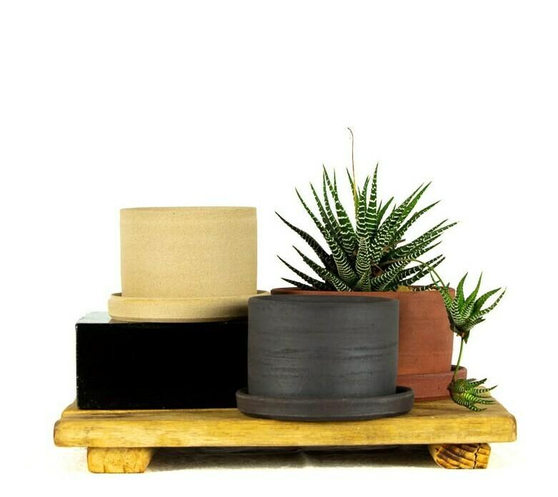 Planter + Tray - Med