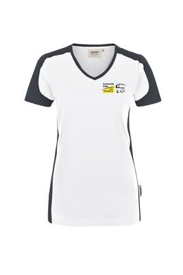 Nr.01a  V-Shirt für die Dame mit dem CCBW Logo