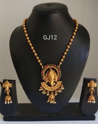 Ganesh Necklace Set