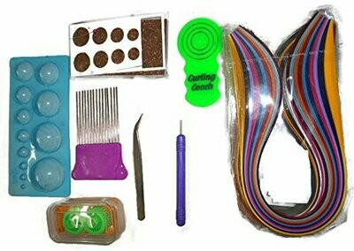 QUILLING TOOLS AND STRIPS KIT