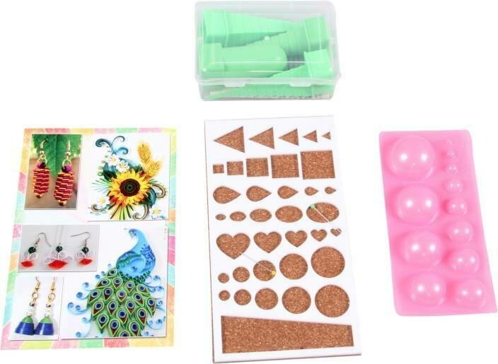 QUILLING KIT OF BOOK QUILLING TOWERS MOLD AND BIG BOARD
