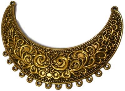 Big Gold Color metal Pendant