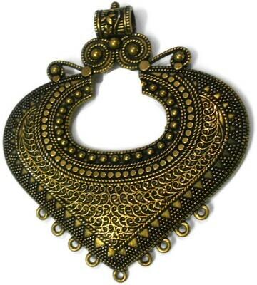 Antique Gold color metal Pendant