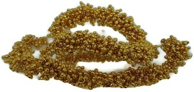 GOLD COLOR LOREALS FOR JEWELRY MAKING