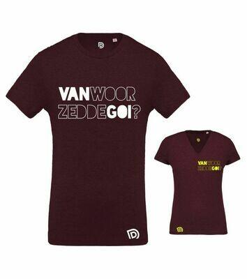 T-shirt VAN-WOOR-ZEDDE-GOI ?