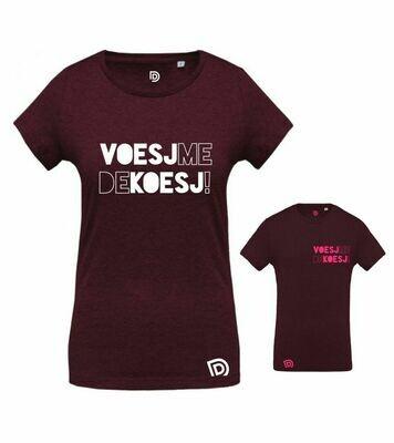 T-shirt VOESJ-ME-DE-KOESJ !
