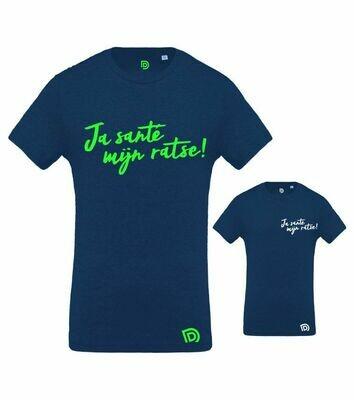 T-shirt 4 kids Ja santé mijn ratse !