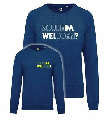Sweater ZOUDE-DA-WEL-DOEN?