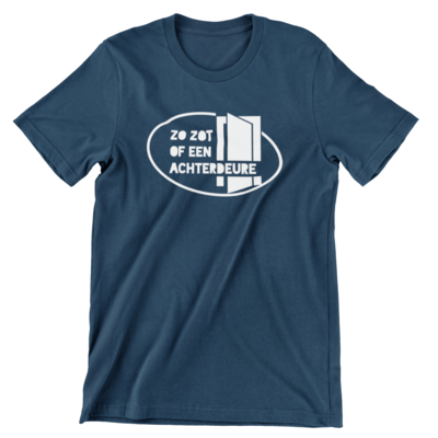 T-shirt - Zo zot of een achterdeure