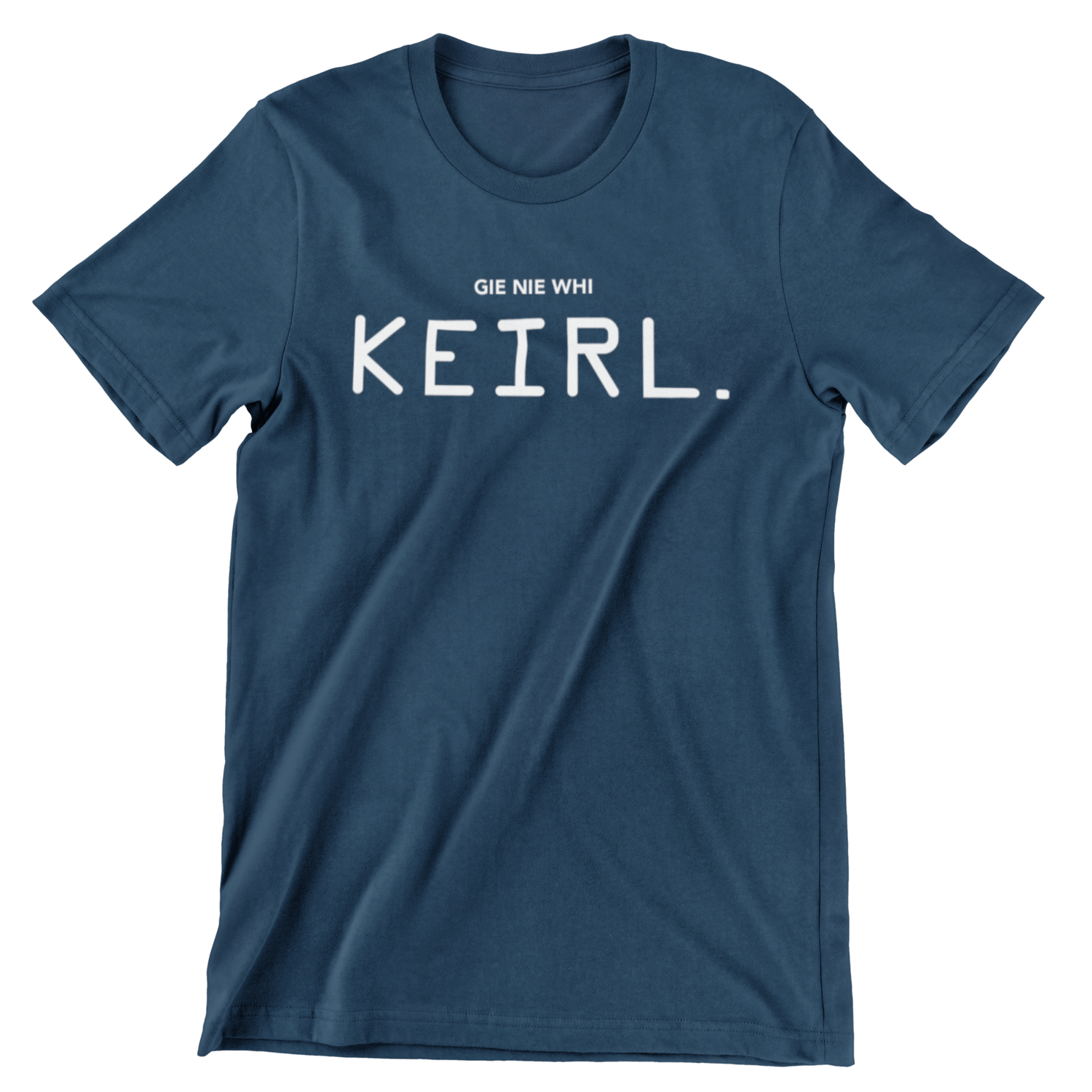 T-shirt - Gie nie whi keirl