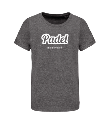 T-shirt Padel met een vette è