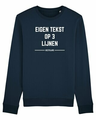 Sweater eigen tekst