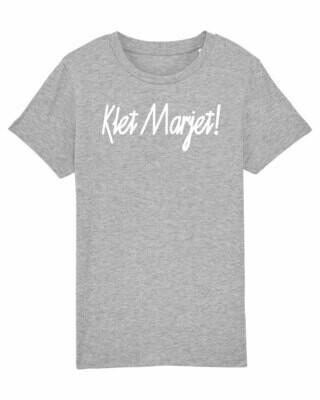 Kids T-shirt Klet Marjet!
