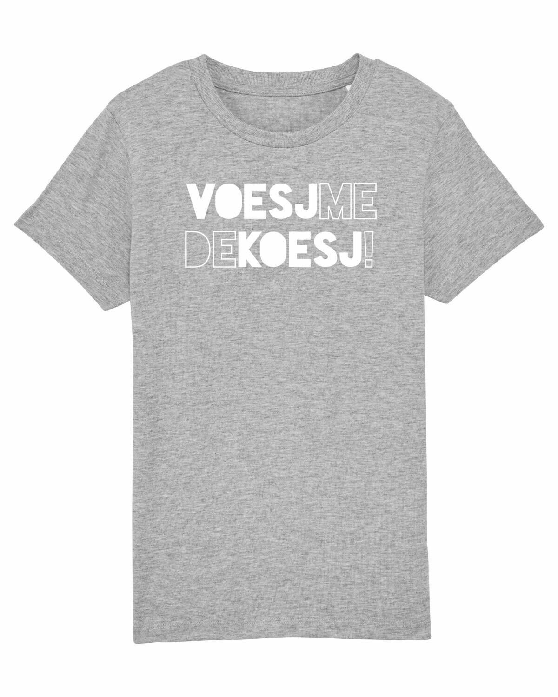 Kids T-shirt Voesj Me De Koesj!