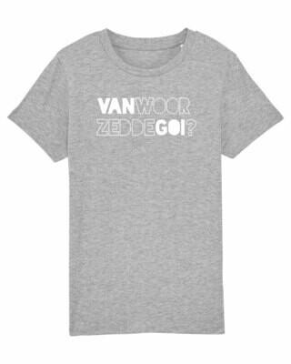 Kids T-shirt Van Woor Zedde Goi?
