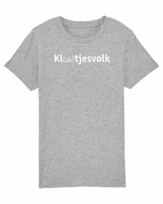 Kids T-shirt Klootjesvolk