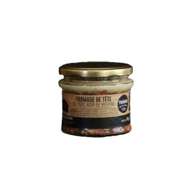 Fromage de tête Noir de Bigorre (terrine van hoofdvlees) 180gr