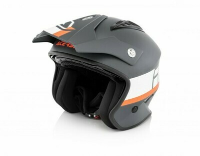 Helm Acerbis Jet Aria Grafix - Grey/White