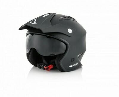 Helm Acerbis Jet Aria Grafix - Black Matt