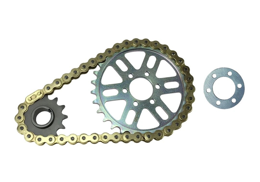 DB Racing Primary belt to chain conversion kit X-Ring