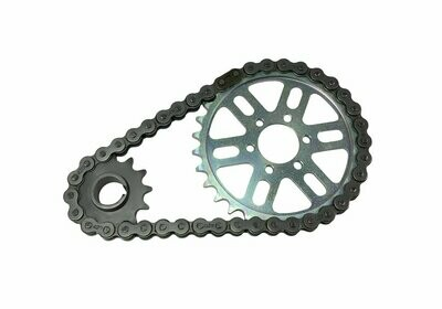 DB Racing Primary belt to chain conversion kit