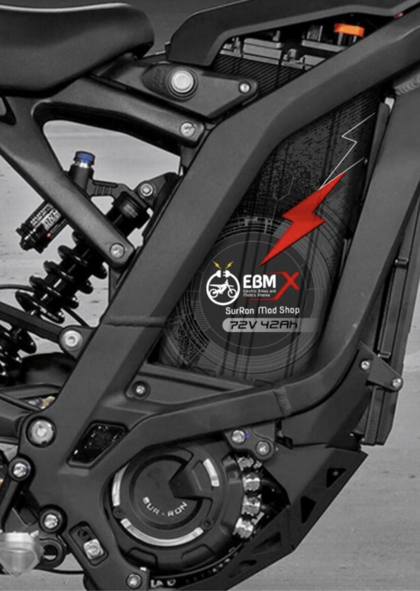 EBMX 72v 42ah SUR-RON Battery
