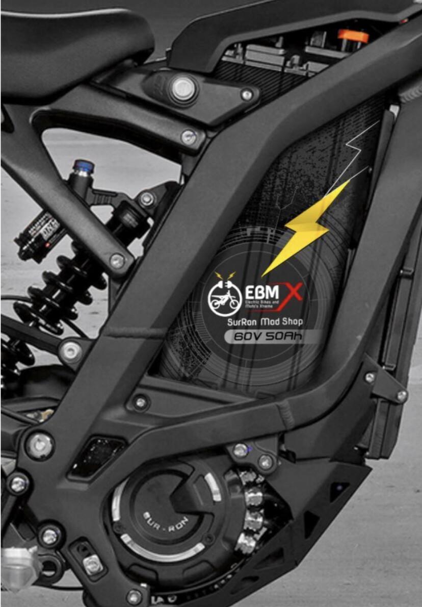 EBMX 60v 53ah SUR-RON Battery
