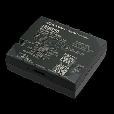 FMB120 GNSS/GSM/Bluetooth tracker with internal GNSS/GSM antennas and internal battery