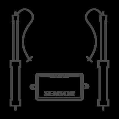 Kofferklep opener Mercedes Benz S CLASS 2014-2017