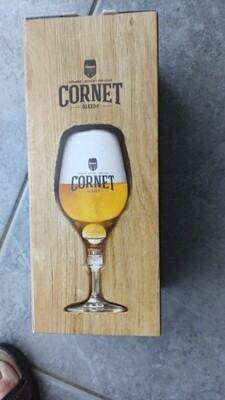 Cornet glas