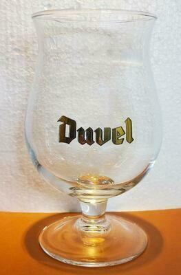 Duvel glas gouden logo