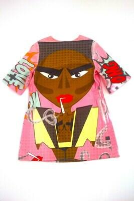 Pop Art Grace Jones Long Shirt