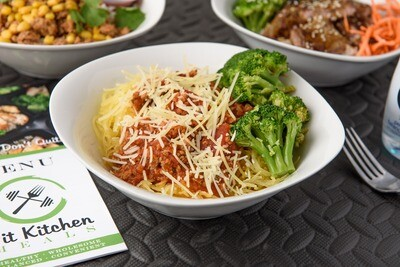 Spa-kinny Bowl (Spaghetti Squash)