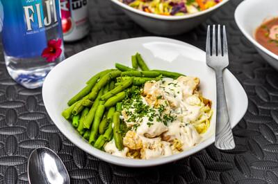 Chicken Fettu-Skinny(Spaghetti Squash)