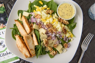 Chicken Spinach Salad