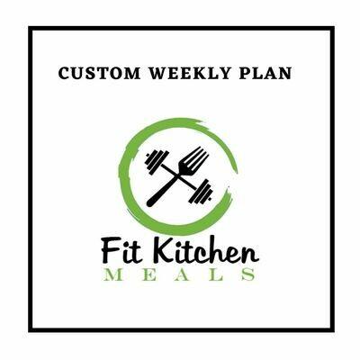 Custom Weekly Plan