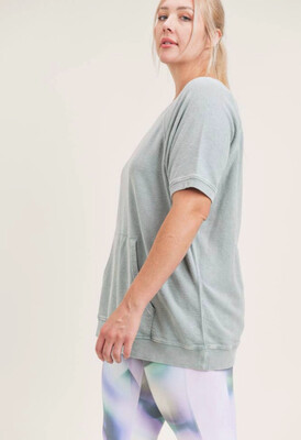 Mineral Washed Top (plus)