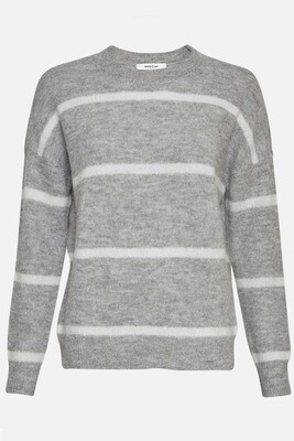 Femme Alpaca Stripe Sweater MSCH