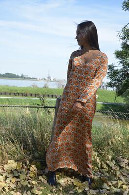 Dress Cherrie Orange