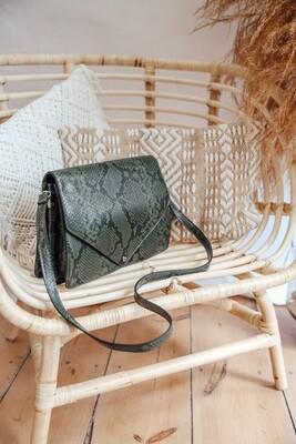 Handbag Snake Green