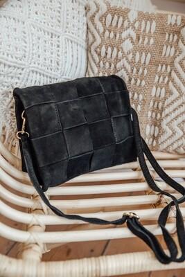 Handbag Woven Black