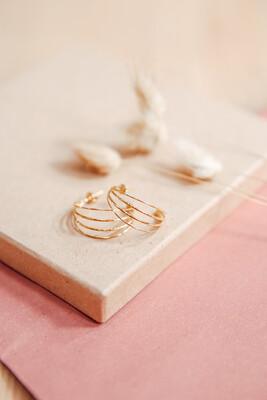 Earrings Classy Gold