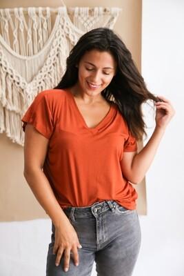 T-shirt Blackrose Brown