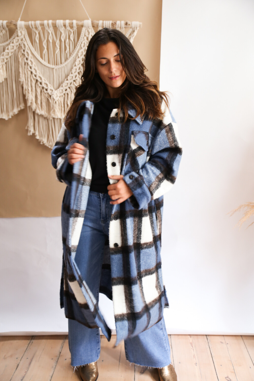 Coat Pauline Blue