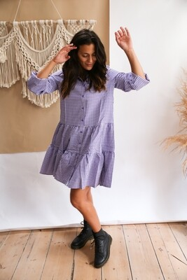 dress Vichy Lila