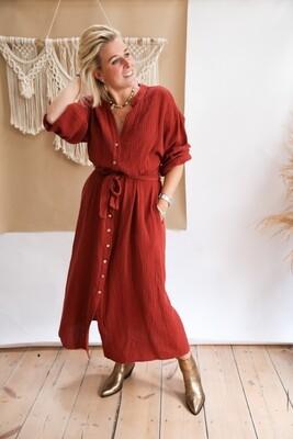 Tetra Dress Roest