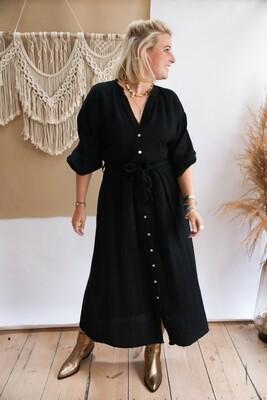 Tetra Dress Black