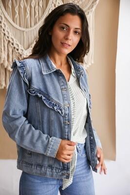 Jeansvest Lily